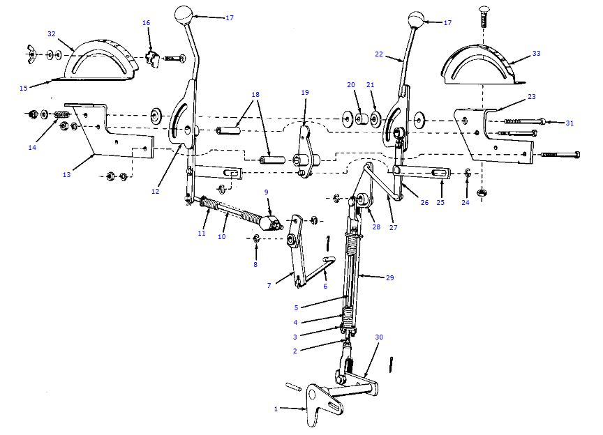 Allis Chalmers D17 Parts Diagram : D iv plowing and traction booster help allischalmers forum