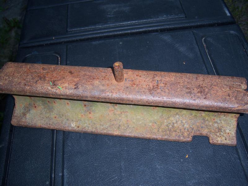 Ledger Plate Rivets : Installing ledger plates on sickle mower allischalmers forum